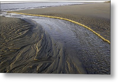 Low Tide Morning Metal Print