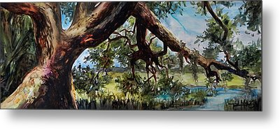 Lowcountry Dreaming Metal Print by Trish McKinney
