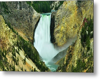 Lower Falls No Border Or Caption Metal Print by Greg Norrell