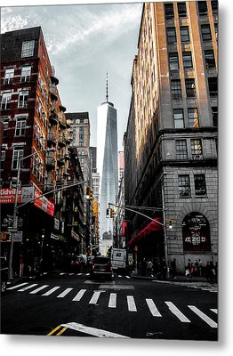 Metal Print featuring the photograph Lower Manhattan One Wtc by Nicklas Gustafsson