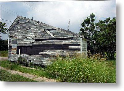 Lower Ninth Ward Metal Print by Heather S Huston