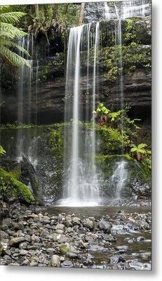 Lower Russell Falls Tasmania  Metal Print by Odille Esmonde-Morgan