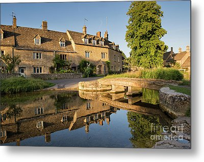 Lower Slaughter Cotswolds Metal Print by Tim Gainey