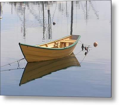 Lttle Row Boat Metal Print by Frederic Durville