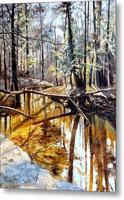 Lubianka-2-river Metal Print