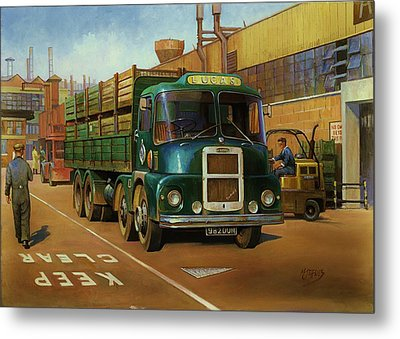 Lucas Scammell Routeman I Metal Print by Mike  Jeffries