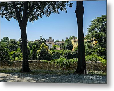 Lucca Italy Metal Print by Edward Fielding
