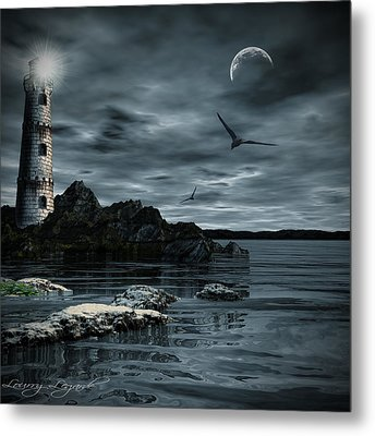 Lucent Dimness Metal Print by Lourry Legarde