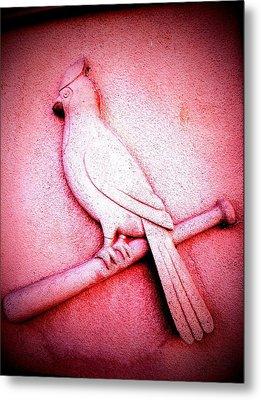 Lucky Bird Metal Print by John McGarity