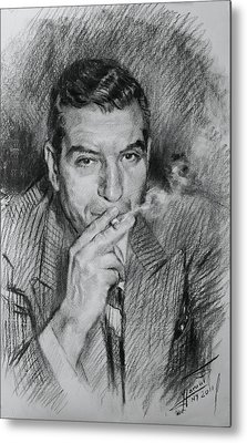 Lucky Luciano Metal Print by Ylli Haruni