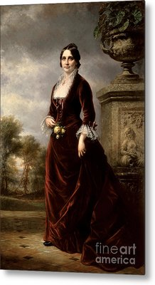 Lucy Hayes, First Lady Metal Print