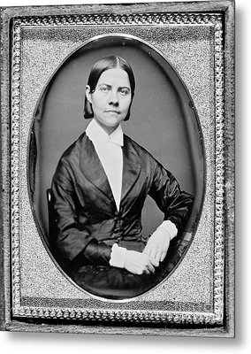 Lucy Stone, American Abolitionist Metal Print by Photo Researchers
