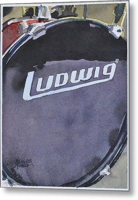 Ludwig Metal Print