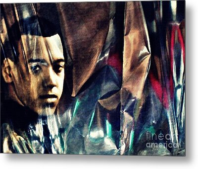 Luke Metal Print by Sarah Loft