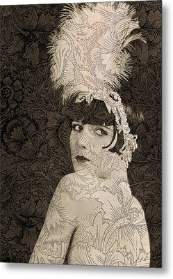 Lulu In Hollywood Metal Print by Sarah Vernon