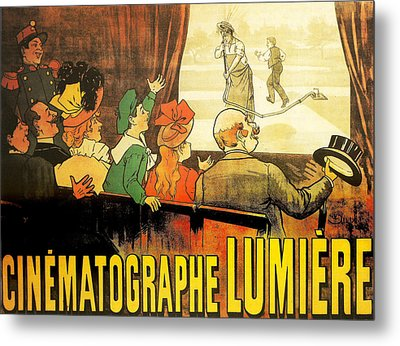 Lumiere Cinematographe Metal Print by Georgia Fowler