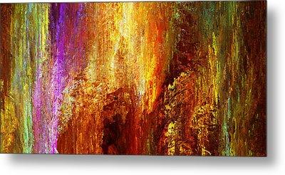 Luminous - Abstract Art Metal Print by Jaison Cianelli