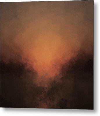 Luminous Descent Metal Print by Lonnie Christopher