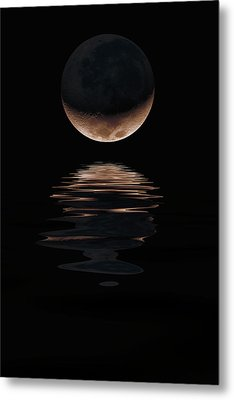 Lunar Dance Metal Print by Jerry McElroy