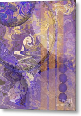 Lunar Impressions Metal Print by John Beck