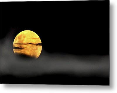 Metal Print featuring the photograph Lunar Mist by Marion Cullen