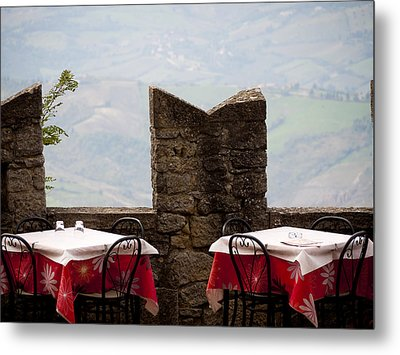 Lunch With A View Metal Print by Rae Tucker
