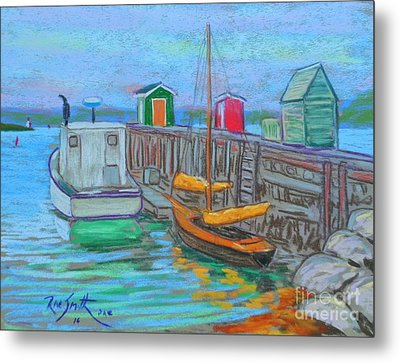 Lunenburg Waterfront  Metal Print by Rae  Smith