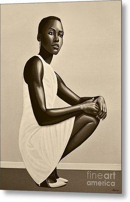 Lupita Nyong'o Metal Print