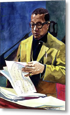 Lush Life Billy Strayhorn Metal Print by David Lloyd Glover
