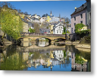 Luxembourg City Metal Print by JR Photography