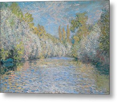 L'yerres Pres De Montgeron Metal Print by Claude Monet