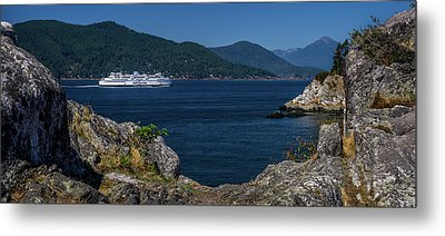 M/v Queen Of Cowichan Metal Print
