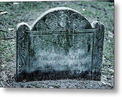 M. William Allen Metal Print by Tamyra Ayles