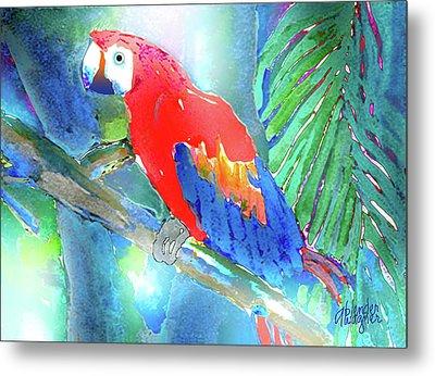 Macaw II Metal Print by Arline Wagner