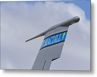 Macdill Mobile Gas Station Metal Print