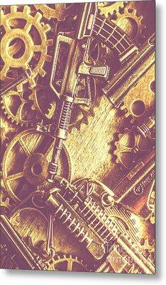Machine Guns Metal Print by Jorgo Photography - Wall Art Gallery