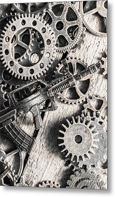 Machines Of Military Precision  Metal Print