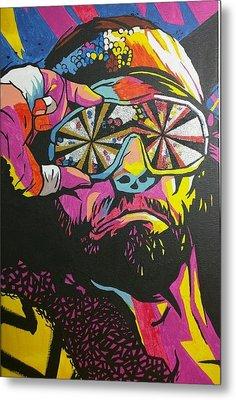 Macho Man Randy Savage Metal Print by Ralph Rivera