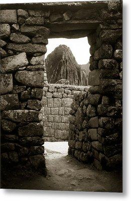 Machu Picchu Metal Print by Amarildo Correa