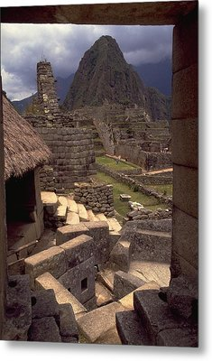 Metal Print featuring the photograph Machu Picchu by Travel Pics