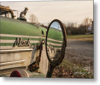 Mack Reflection Metal Print