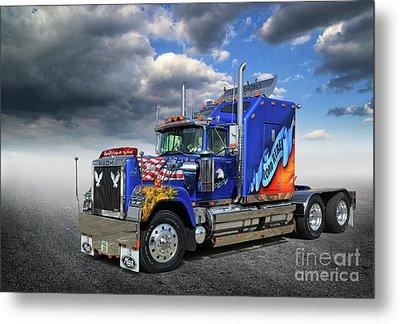 Mack Truck Metal Print by Stephan Grixti