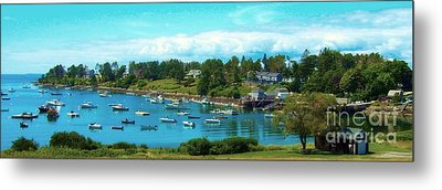 Mackerel Cove On Bailey Island Metal Print