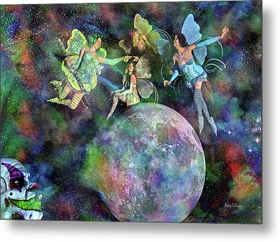 Mad Wicked Fun Metal Print by Betsy Knapp