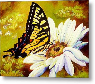 Madame Butterfly Metal Print by Karen Dukes