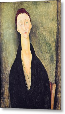 Madame Hanka Zborowska Metal Print by Amedeo Modigliani