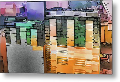 Metal Print featuring the digital art Made For Each Other by Wendy J St Christopher
