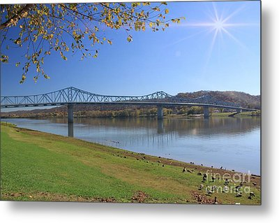 Madison, Indiana Bridge  Metal Print