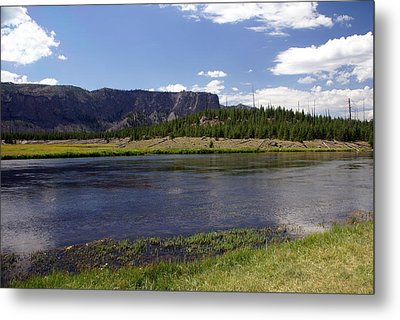 Madison River Valley Metal Print by Marty Koch