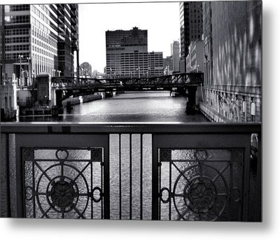 Madison Street Bridge - 3 Metal Print by Ely Arsha